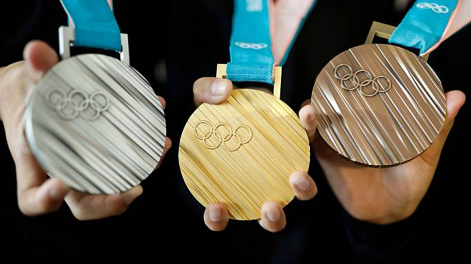 Les médailles olympiques dévoilées
