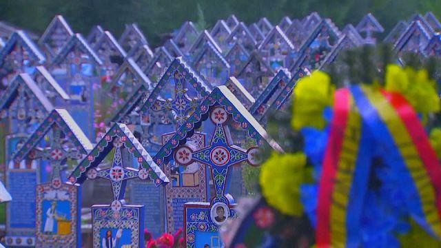 شاهد: مقبرة السعادة في رومانيا