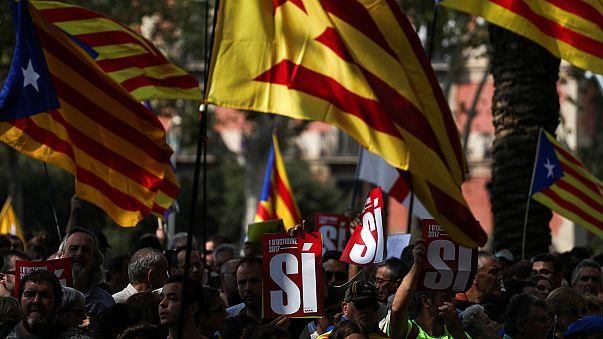 Estibadores internacionales se unen contra el gobierno español por Cataluña