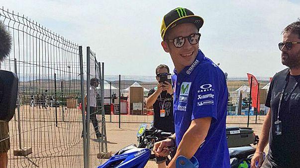 Valentino Rossi, recupero record: in pista ad Aragon