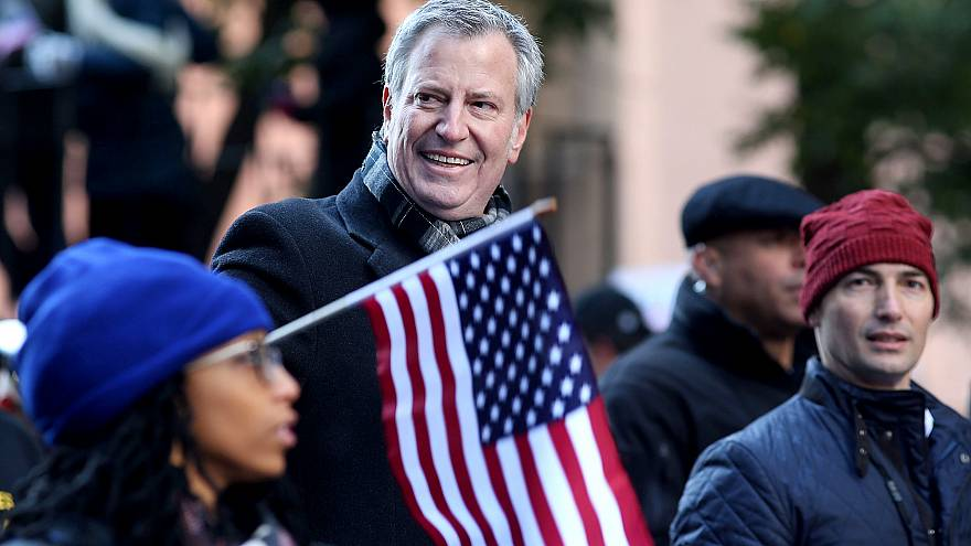 Veterans Day Parade Held On New York's 5th Avenue