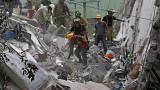 Frantic search for survivors in quake-hit Mexico