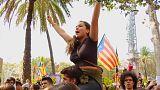Continúa el pulso independentista en las calles de Cataluña