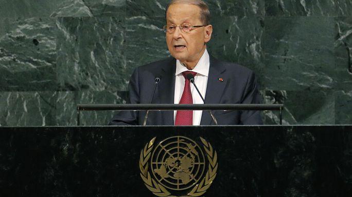 ميشيل عون: لن نوطّن الفلسطينيين والسوريين في لبنان