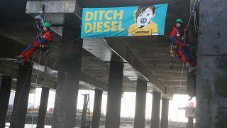 Greenpeace gegen VW-Diesel