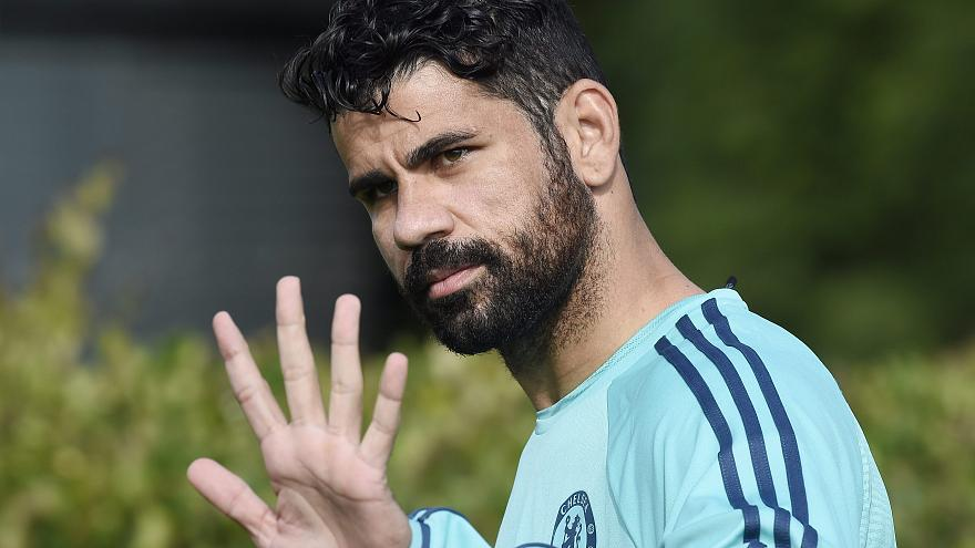 Diego Costa regressa a Madrid