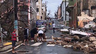 Maria kasırgası Porto Riko'da hayatı felce uğrattı