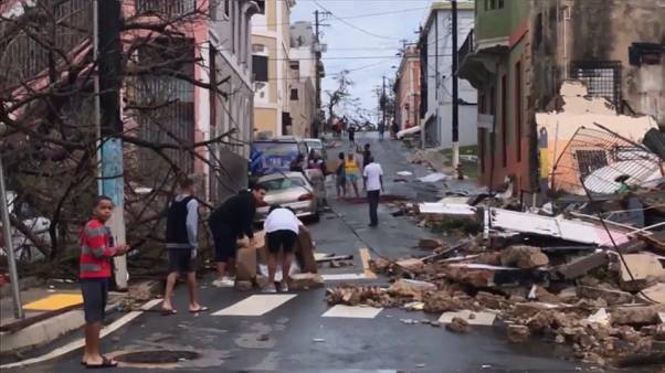 Images show widescale damage in Hurricane-hit Puerto Rico