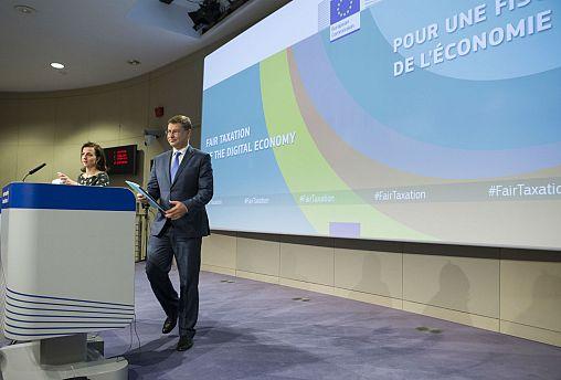 Tributação dos gigantes digitais e visita de Verhofstadt à ilha irlandesa