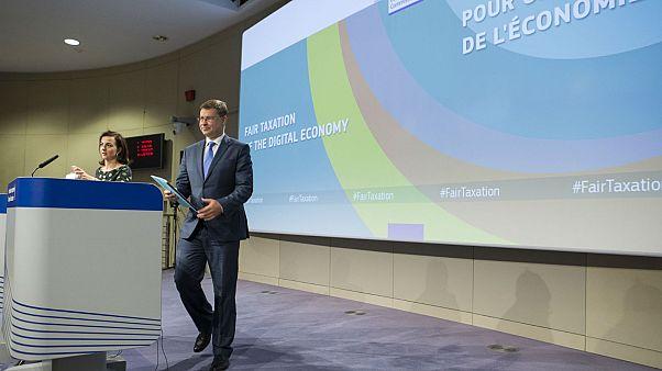 Débat sur la taxation des géants du net dans l'UE