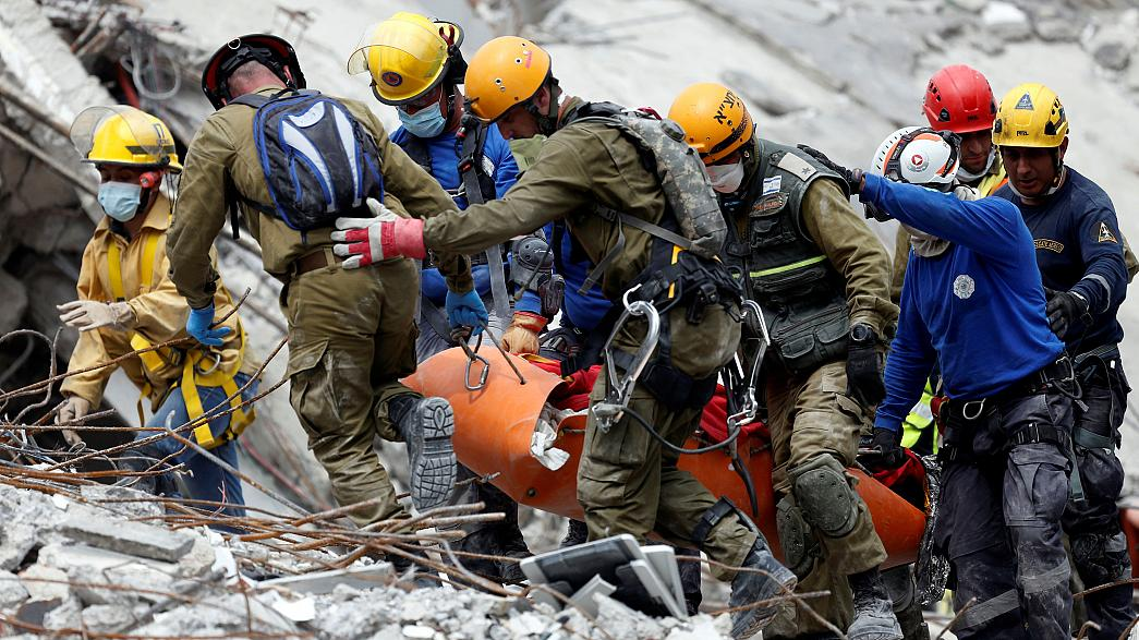 Les recherches de la dernière chance après le séisme au Mexique