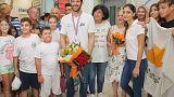 Επέστρεψε και αποθεώθηκε ο Παγκόσμιος Πρωταθλητής, Παύλος Κοντίδης