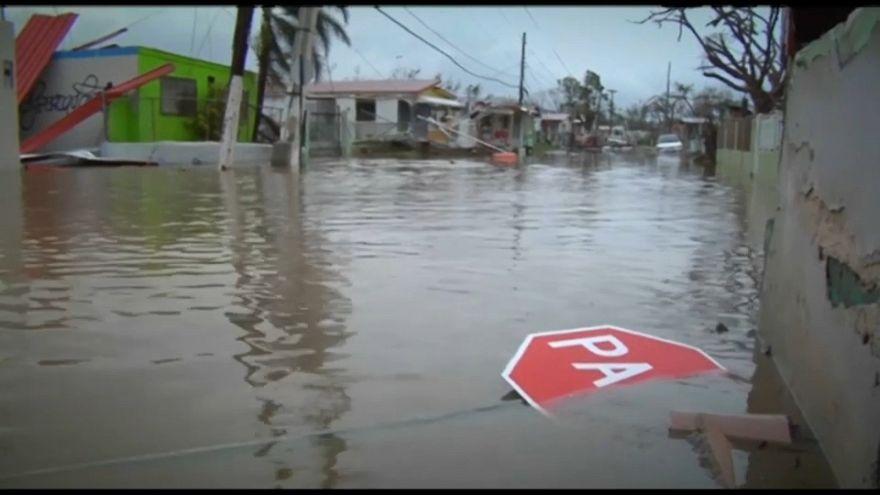 """""""Maria"""": Schneise der Verwüstung in Puerto Rico"""