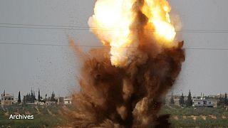 بمباران شهر قلعهالمضیق سوریه؛ چند غیرنظامی کشته شدند