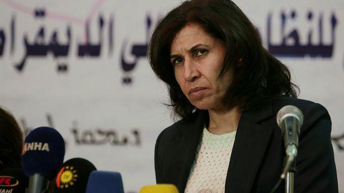 Suriyeli Kürtler sandık başında