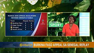 Burkina Faso appeals FIFA replay order as surfing takes shape[Sports]