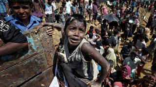 "Bangladesh calls for ""safe zones"" for fleeing Rohingya Muslims"