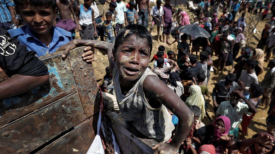 Число беженцев-рохинджа приблизилось к полумиллиону