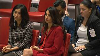 Amal Clooney describes UN investigation into ISIL war crimes as step in the right direction