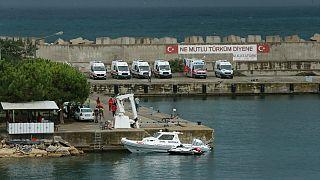 Kocaeli'de göçmenleri taşıyan tekne battı: 4 ölü