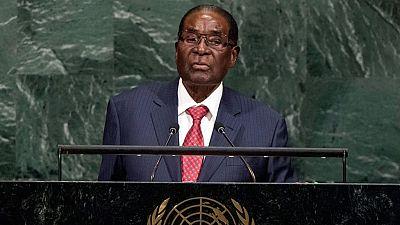 """Mugabe speaks peace, freedom and return of """"giant gold Goliath"""""""