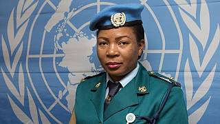 Zimbabwean policewoman wins UN's world female police peacekeeper award