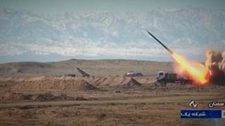 Irão exibe novo míssil