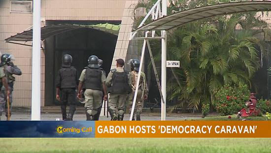 """La """"caravane de la démocratie """" arrive au Gabon [The Morning Call]"""