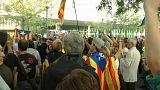 Más policías, protestas y denuncias en Cataluña