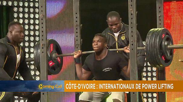 Power lifting championship, Ivory Coast [The Morning Call]
