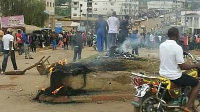 Cameroun : explosion à Douala, manifestation à Bamenda et Buea