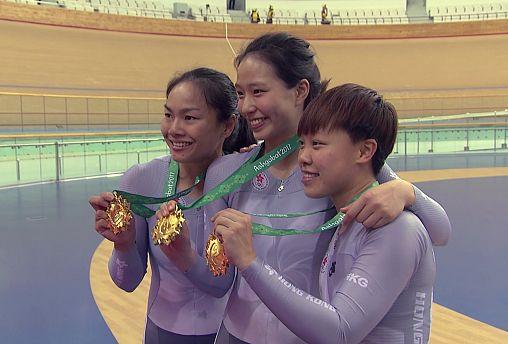 Hong Kong kadın bisiklet takımı Aşkabat'ta birinci oldu