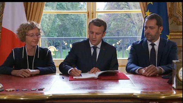"""Macron : """"une réforme sans précédent"""" du droit du travail"""