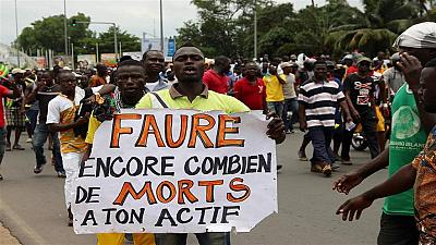 Togo opposition protests enter day 2 in tense climate