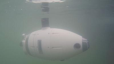 Underwater robots monitor Venice lagoon