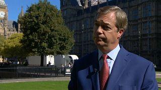 Corbyn, Farage blast May's Brexit speech