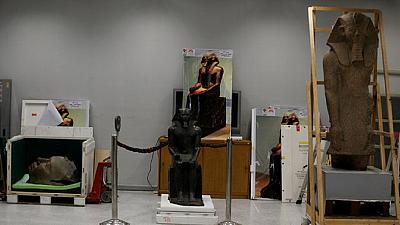 Grand Egyptian Museum receives artefacts ahead of launch