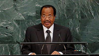 Cameroon's Paul Biya cries for Lake Chad and Congo Basin in U.N. address