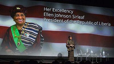Jonhson Ellen Sirleaf heureuse de léguer la paix au Liberia