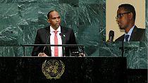 Somali PM pays tribute to slain young MP in U.N. address