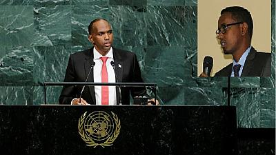 Somali PM pays tribute to slain young MP in U.N. address