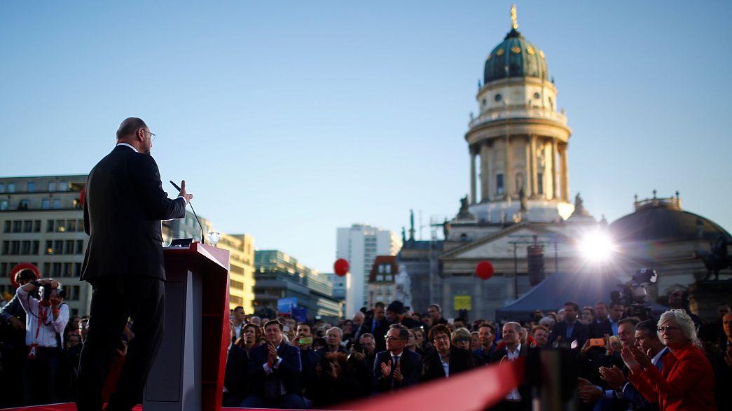 Schulz Berlinben kampányolt