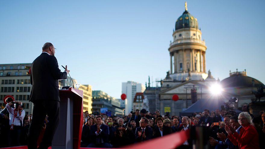 Martin Schulz apela a indecisos na reta final da campanha
