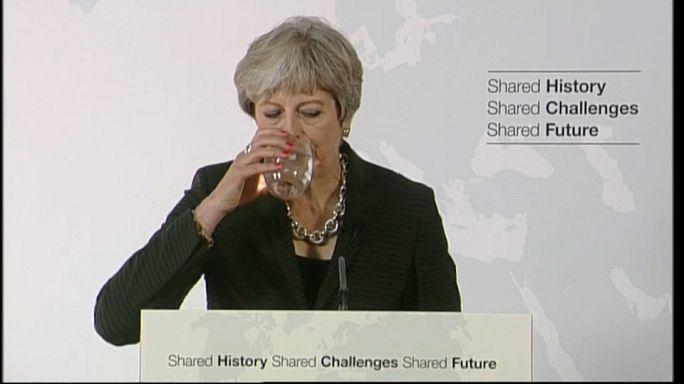 Nach Florenz-Rede: Moody's stuft Grossbritannien herab
