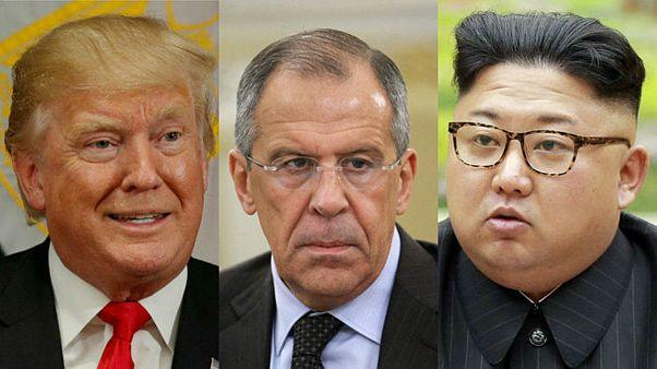 سرگئی لاوروف جنگ لفظی ترامپ و کیم را «دعوای کودکان» خواند
