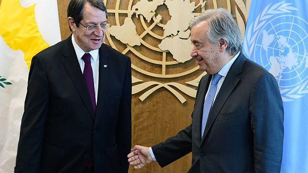 Έγγραφο για το Κυπριακό κατέθεσε ο Αναστασιάδης στον Γκουτέρες