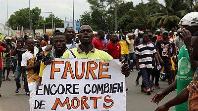 Togo/manifestations: un adolescent succombe à ses blessures