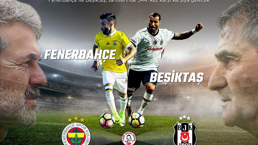 Fenerbahçe Beşiktaş derbisinde 344. randevu