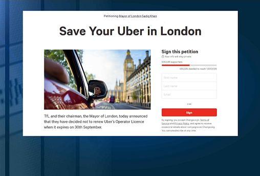 Petíció az Uberért