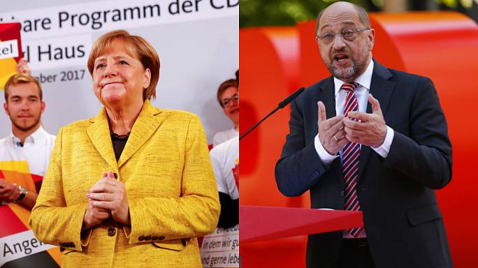German voters 'undecided' hours before polls open
